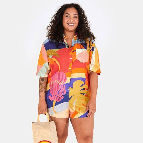 Macaquinho Camisa Brasil de Cor FARM