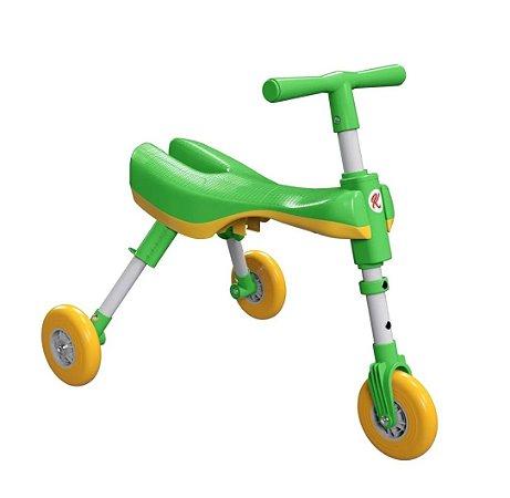 Triciclo Dobrável Verde - Bimba