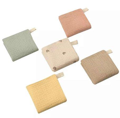 Kit de 5 Fraldas de Boca - Colors