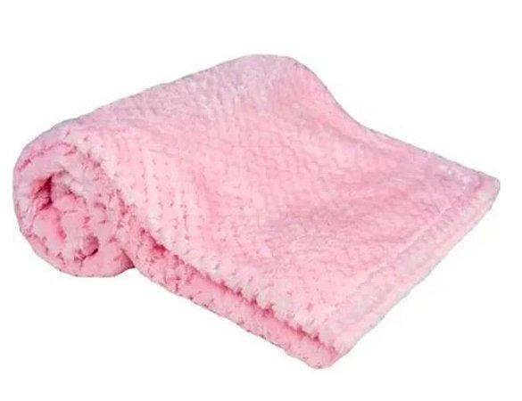 Cobertor Soft Rosa - Buba