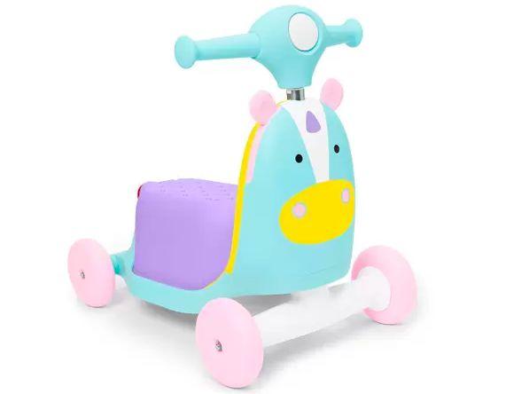Triciclo Patinete Zoo Unicornio - Skip Hop