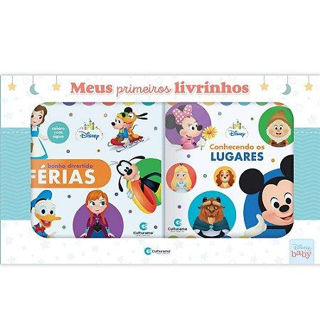 Livro Kit Box Disney Baby - Meus Primeiros Livrinhos - Culturama