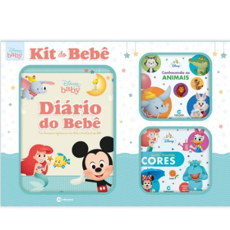 Livro Box Disney Baby - Kit do Bebê - Culturama