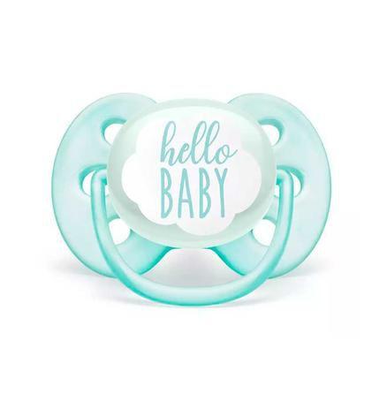 Chupeta Ultra Soft Hello Baby 0-6m - Avent
