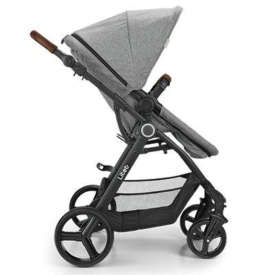 Carrinho de Bebê Litet - Dayone Cinza