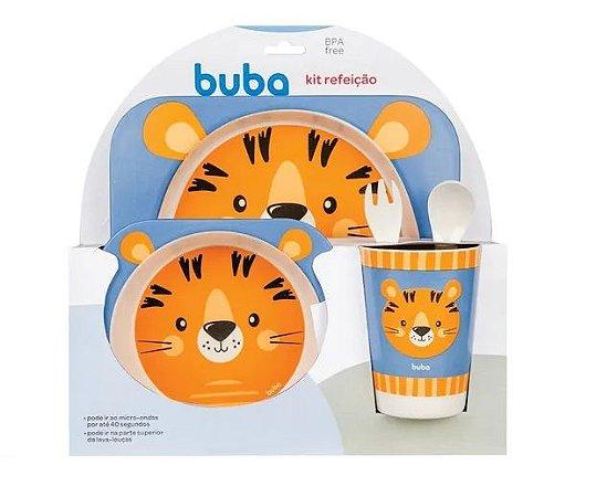 Kit Refeição Bambu Tigre - Buba