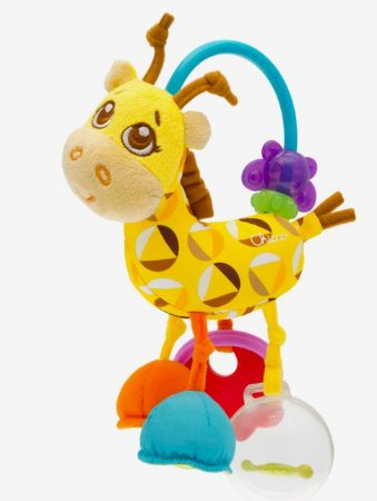 Chocalho Girafa primeiras Atividades - Chicco