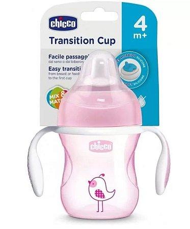 Copo Transition Cup 4m+ Menina 200ml - Chicco