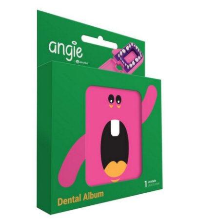 Porta Dentinhos Rosa - Angie
