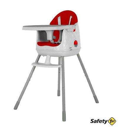 Cadeirinha De Refeição Portátil Jelly Até 25 Kg - Vermelha - Safety 1st