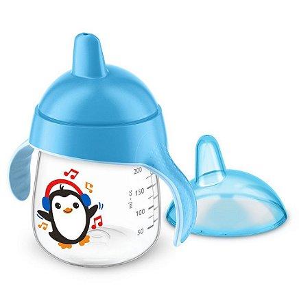 Copo Pinguim 260ml - SCF753 - Avent - Azul