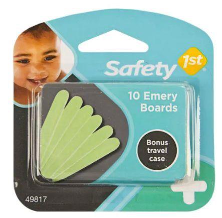 Kit de 10 lixas de unha para bebê - Safety 1