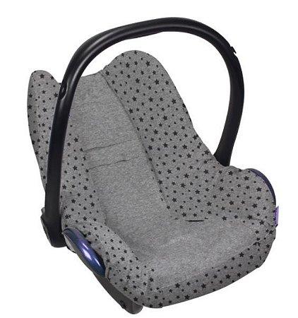 Capa de Bebe Conforto- Cinza Escuro