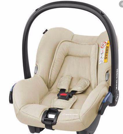 Bebê Conforto Citi c/ Base Nomad Sand - Maxi Cosi