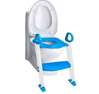 Redutor de Assento Infantil Com Degrau Azul