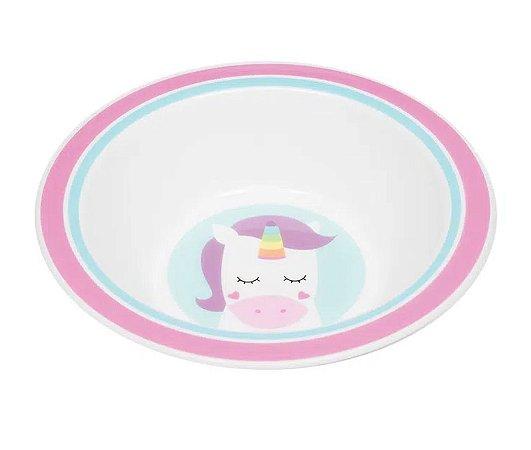 Pratinho Bowl Animal Fun Unicórnio - Buba