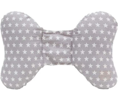 Almofada Apoio para Cabeça Baby Cinza (0m+) - Buba