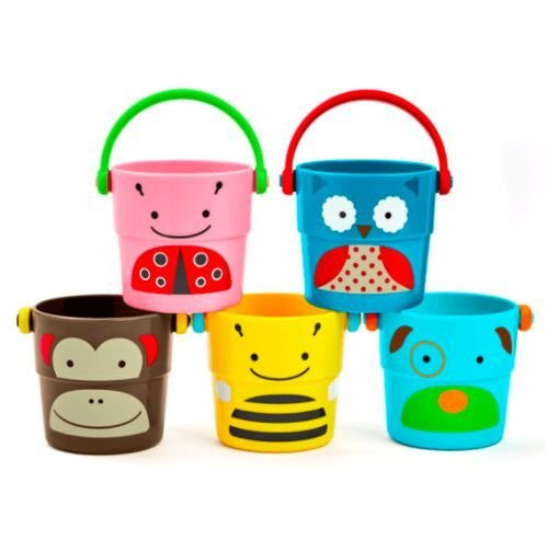 Conjunto de Baldes Empilhaveis para Banho - Yes Toys