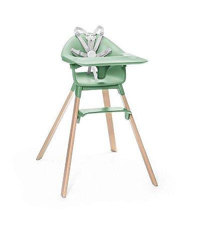 Cadeira de Alimentação  Clikk  Verde Stokke - Modelo Novo