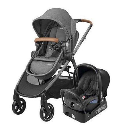 Carrinho de Bebê Travel System Anna TS Sparkling Grey - Maxi Cosi