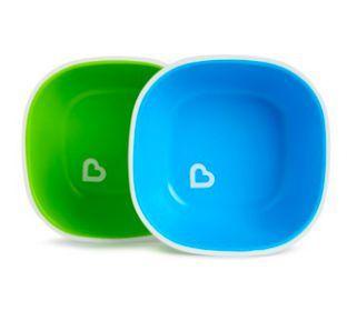 Kit de 2 Bowl Verde e Azul - Munchkin
