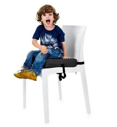 Almofada  para Elevação Infantil  Preta
