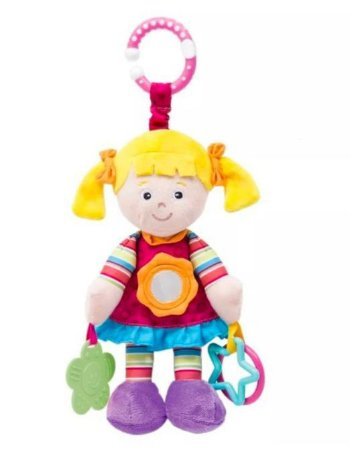 Boneca Juju Pelúcia pink - Buba