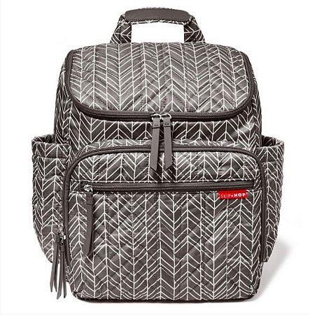 Bolsa Maternidade Forma Backpack Grey Feather - Skip Hop