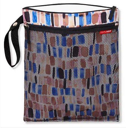 Bolsa Wet and Dry  Bag Brush Stroke - Skip Hop