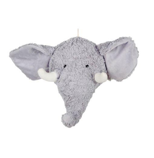 Cabeça de Elefante Pelúcia