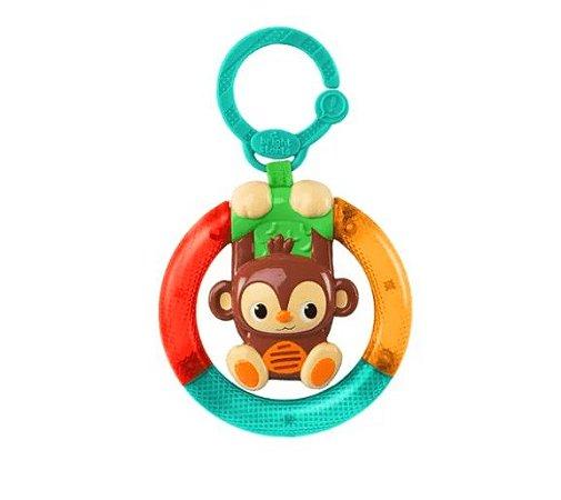 Brinquedo de Pendurar no Carrinho Shake & Glow Monkey - Bright Starts