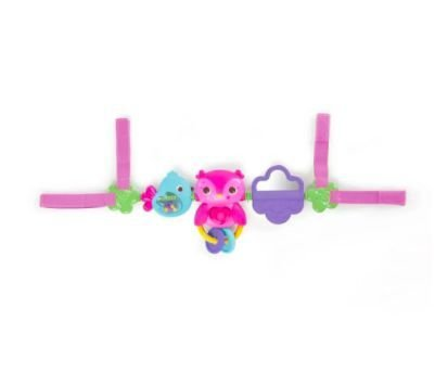 Pip Busy Birdies Carrier Toy Bar Bright Starts Rosa