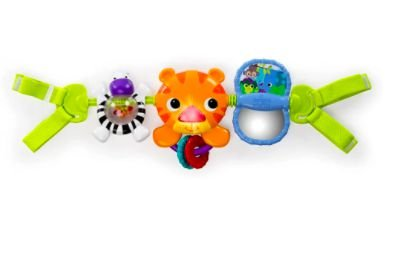BS Take Along Tiger Carrier Toy Bar Bright Starts