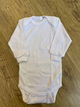 Body Branco Manga Longa - RN