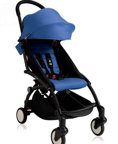 Babyzen - 2020 Yoyo2 6+ Stroller Black  - Color Pack Blue