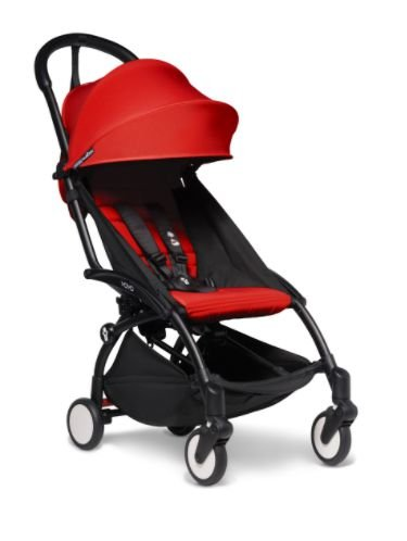 Yoyo 2 6+ Stroller Black  - Color Pack Red  Babyzen - 2020