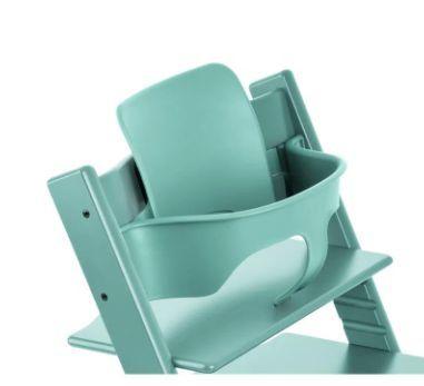 Kit Bebê Tripp Trapp Azul Água Stokke