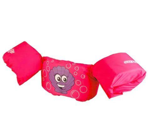 Colete Salva Vidas Puddle Jumper Concha Rosa