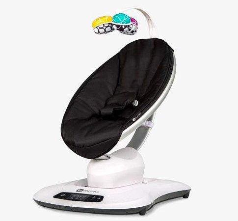 Cadeira de Descanso Elétrica Mamaroo 4.0 Preta- 4 Moms