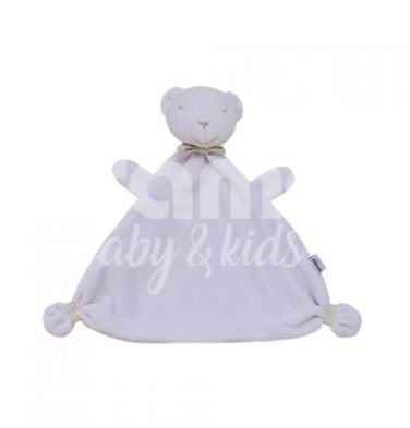 Naninha para Bebê Cheirinho Urso Branco