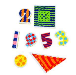Brinquedos para Banheira Números e Formas