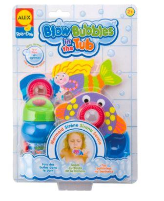 Brinquedos para Banheira Sereia- Blow Bubbles in The Tub - Dives