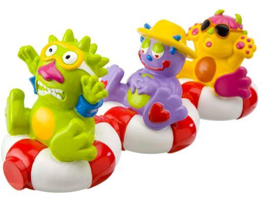Brinquedos de Banheira Monstros Magneticos