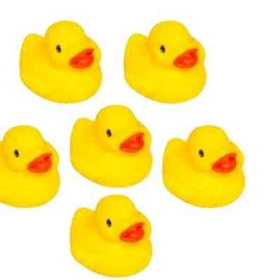 Patinhos de Banho Amarelo - Buba