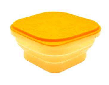 Container para Refeição ou Snack 400 ml Amarelo Girafa