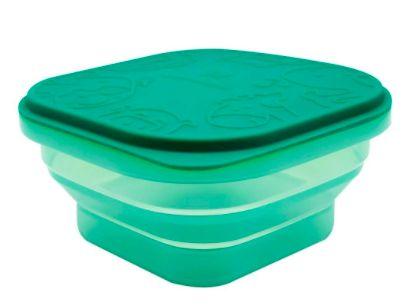 Container para Refeição ou Snack 400 ml Verde Elefante