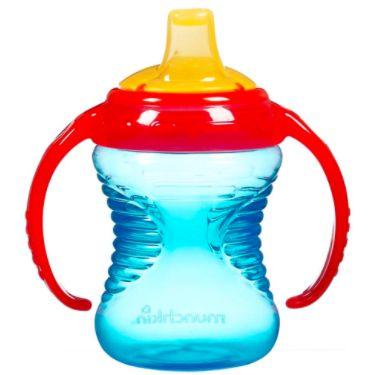 Copo de Treinamento Mighty Grip Azul e Vermelho