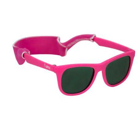 Óculos de Sol Flexivel Pink  0 -2 Anos com Proteção Solar