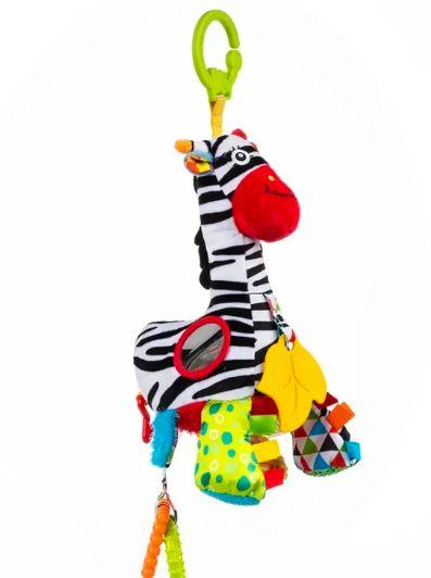 Zebra Pull String Musical Bell
