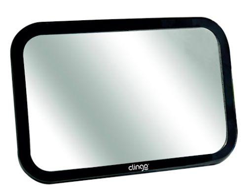 Espelho Retrovisor Retangular Square Clingo
